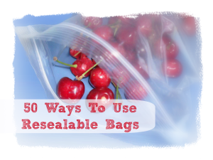 storage ideas: 50+ ways to reuse ziploc bags – trimester fashion