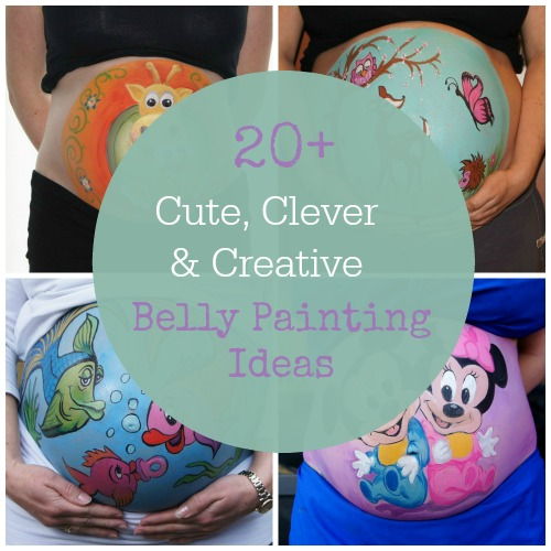 Belly Painting Is It Safe To Paint Your Stomach When Pregnant Trimester Fashion